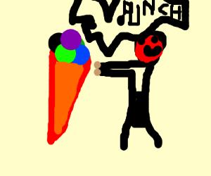 Rank one ice cream boxer