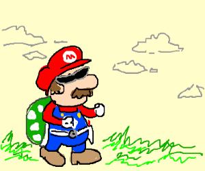 Mario is a mighty morphin' Koopa