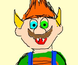 illegitimate child of Bowser and Mario