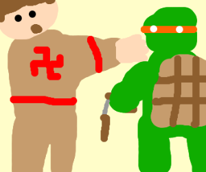 Hitler vs the Ninja Turtles