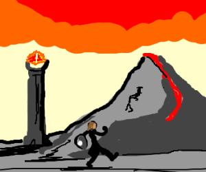 Simply walk into Mordor