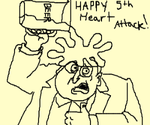 Dick Cheney partying