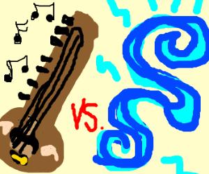 Toomba vs. Blue glowey.