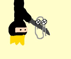 Ninja king kills microsoft paperclip