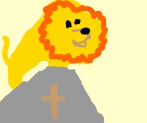 Aslan is Lion Jesus