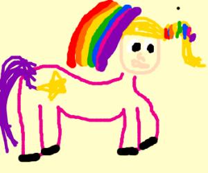 Rainbow Brite / My Little Pony Crossover