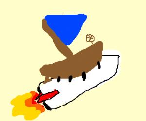 RocketSailShip