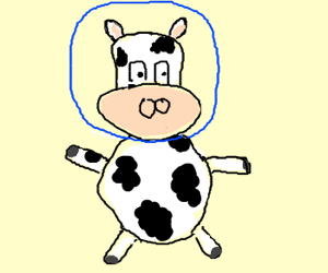 space cow