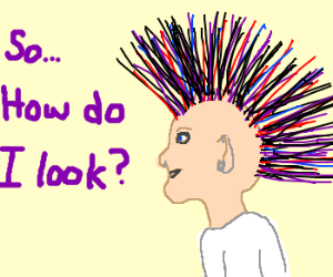 Survey: Is my mohawk awesome?