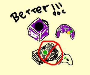 Gamecube > Xbox