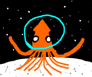 A moon squid (by applekor)