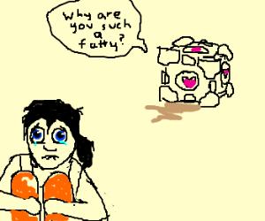Cubes always tease humans