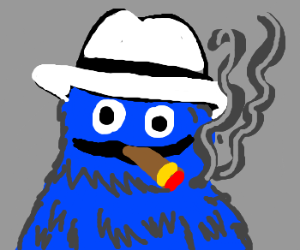 Cookie Monster The Gangster Drawception