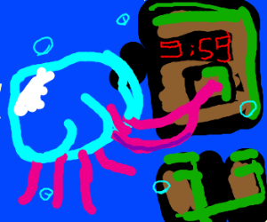 Jellyfish terrorist
