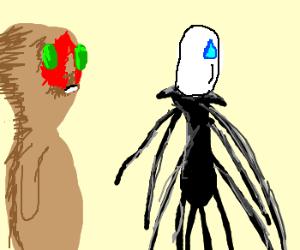 SCP-173 meets Slender Man