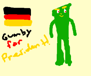 Germany elects Gumby as their leader