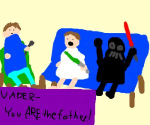 Luke & Vader on Jeremy Kyle DNA results