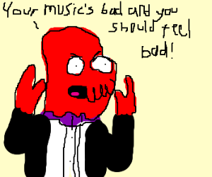 Make Someone Feel Bad Why Not Zoidberg Drawing By Fingerstehhand