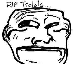 Sad trollface
