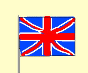 British flag (drawing by hell break)