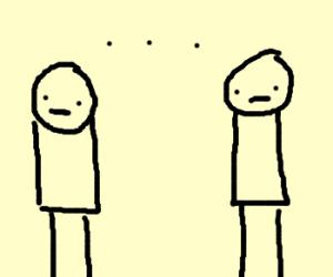 the awkward silence
