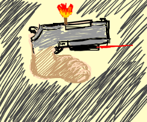 foot-gun-torch ?