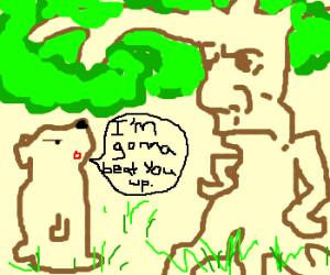 Bear Threatens Ent.