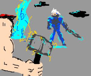 Thor VS Raiden. Who is the true god?