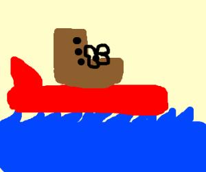 Surfin' boot