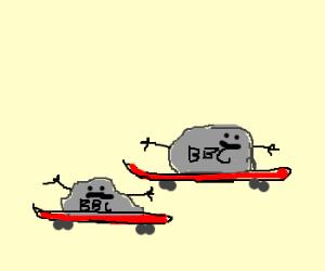 BBC rocks skateboarding!