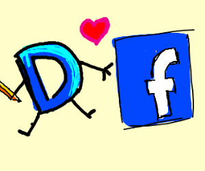 Drawception &Facebook icons are in love!