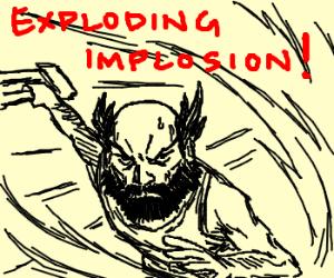 EXPLODING IMPLOSION, Susano-style!