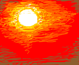 A heat wave.