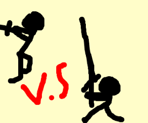 The ultimate showdown