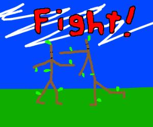 Stickman vs stickman!