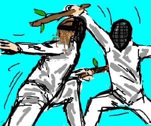 Fencing with branches