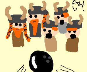 Bowling for vikings