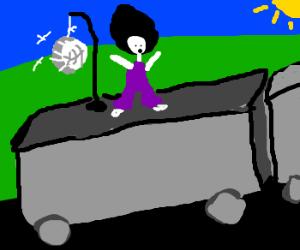 Boogie Boogie on the Van surfer