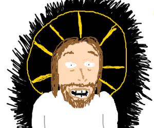 Bearded Jesus on Adderall