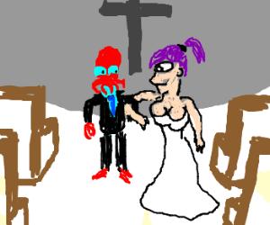 Zoidberg gets married