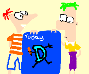 Phineas & Ferb Invent Drawception