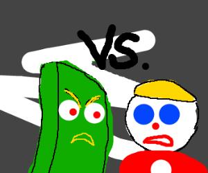 gumby vs mr bill drawception