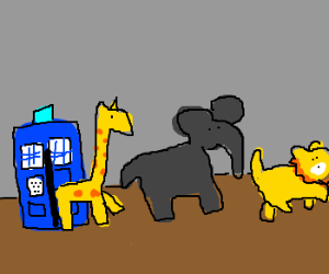 There's a ZOO in my Tardis!
