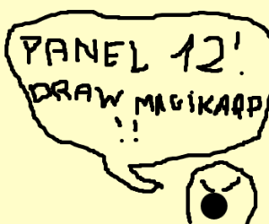 Tell panel 12 to draw Magikarp