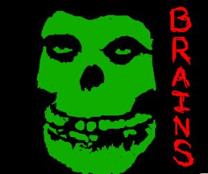 Zombie misfit boy
