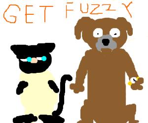 Bucky Katt and Satchel Pooch - Drawception