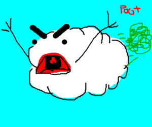 Angry cloud farts