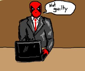 Deadpool pleads not guilty
