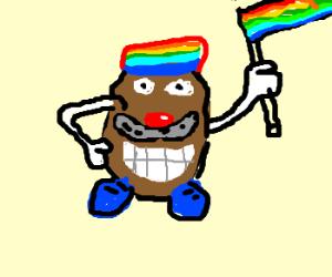 Gay big bubble butt