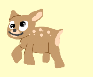 you are a derpy deer